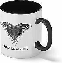 Raven Valar Morghulis Schwarze Innenseite mit