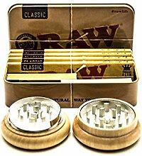 Raw klassische Tabakdose | 4 Raw klassische King