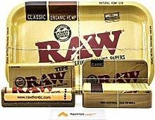 RAW Kleines Rolltablett und Blechdosen-Set | Raw
