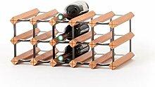 RAXI Marken Holz Weinregal Classic für 15