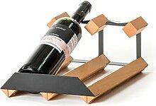 RAXI Marken Holz Weinregal Show für 2X Flaschen