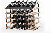 RAXI Marken Holz Weinregal Show für 30x Flaschen