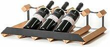 RAXI™ SHOW Premium Weinregal aus Buchenholz mit
