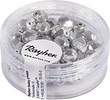 Rayher 14201610 Glas Schliffperle, 6mm ø