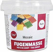 Rayher 1460100 Fugenmasse für Mosaikarbeiten,