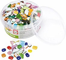 Rayher 14796999 Soft Glas-Mosaiksteine, bunte