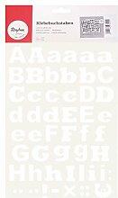 RAYHER 38920000 Klebebuchstaben groß und klein, 3