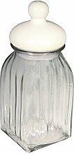 RAYHER 56536000 Vorratsglas mit Keramikdeckel,