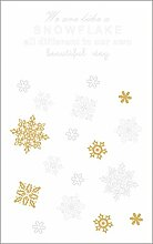 Rayher 60957000 Abziehmotive Snowflake,