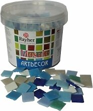 Rayher Hobby 1453108 Glas-Mosaiksteine, Artdecor,