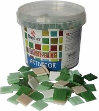 Rayher Hobby 1453113 Glas-Mosaiksteine, Artdecor,