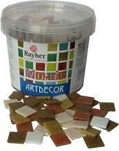 Rayher Hobby 1453131 Glas-Mosaiksteine, Artdecor,