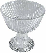 Rayher Hobby 46155000 Glas Schale mit Fuß,
