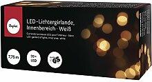 Rayher Hobby RAYHER 69146102 LED-Lichtergirlande, Innenbereich, 7, 75 M, 20 Lichter, Plastik, Weiß, 15 x 7 x 5.3007 cm