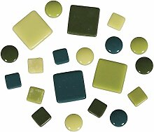 Rayher Mosaiksteine-Mischung (circa395 Stück),