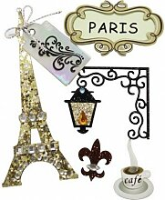 Rayher Sticker Selbstklebend Romantisches Paris,