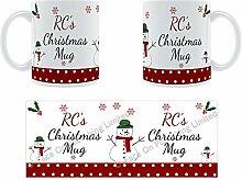 RC'Weihnachten Becher, Tasse, Keramik,