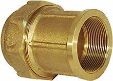 RC Junter 44040–Link Weiblich Messing, 40mm, 7x 6x 6cm, gold