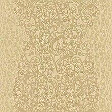 rc14006–ROBERTO CAVALLI beige kupfer gold glitzer Swirly Moderne Tapete