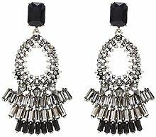 Rcque Frauen Crystal Earing Geschenk für Frauen