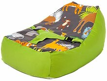 Ready Steady Bed Afrika Design Baby Sitzsack mit