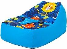 Ready Steady Bed® Jungle Fever Design Baby Sitzsack Liege mit Sicherheit Geschirr