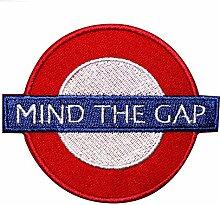 "Real Empire ""Mind The Gap""-Bügelbild, London,"