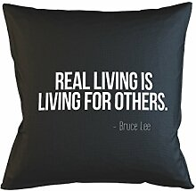 Real Living Is Living For Others Bruce Lee Quote