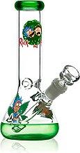 REANICE Beaker Bong Glas Wasser Percolator 14.5mm