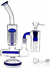 REANICE(Clear B Glass Bong schüssel höhe 31cm
