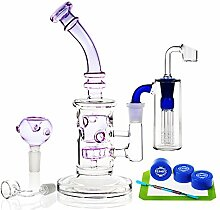 REANICE (CORAL D) Recycler Glas Bongs transparente