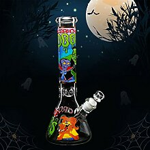 REANICE Durchmesser Bongs 35cm Recycler Glas