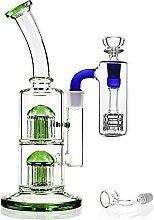 REANICE Glas Wasser Bong Öl Rig Wasser Rohre für