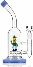 REANICE Glas Wasser Bongs 14.5mm Vorkühler Pipe