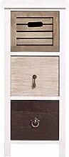 Rebecca Mobili Kommode mit 3 Schubladen, kleiner