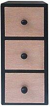 Rebecca Mobili Mini-Kommode aus Holz,