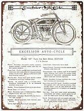 Rebecca Simpson 1912 Excelsior 6T Auto Cycle