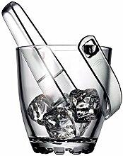 Reception 1611174Highland Eiskübel, klar, Glas, 15x 13,5x 15,5cm