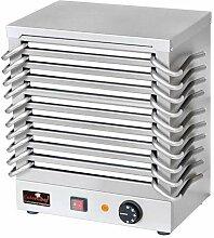 Rechaud mit 10 Warmhalteplatten aus Aluminium