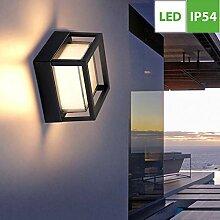 Rechteck Außenwandleuchte LED Wegeleuchte,
