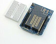 Rechteck blau Prototyp Shield Expansion Board w Mini Brotschneidebrett für Arduino