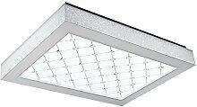 Rechteck Dekorative Crystal 96w LED Deckenleuchte Lampe Beleuchtung