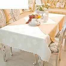 Rechteck,Esstisch,Tischdecke,Stoffe,Tee Tischdecke/Hotels,Tischdecke/Bankett,Runde Tischdecke-A Durchmesser280cm(110inch)