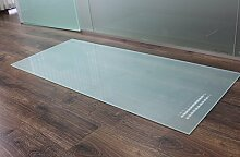 Rechteck *Frosty* 100x50cm - Kamin-Vorlegeplatte