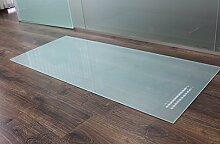 Rechteck *Frosty* 140x40cm - Kamin-Vorlegeplatte