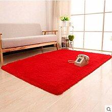 Rechteck Superweicher Teppich für den