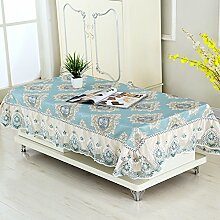 Rechteck,wohnzimmer garten tisch cloth tischtuch-B 130x180cm(51x71inch)