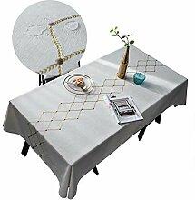 Rechteckige Couchtisch Tischdecke Stoff Baumwolle