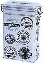 Rechteckige Kaffeedose im Vintage-Stil,