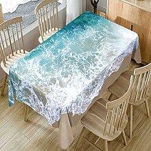 Rechteckige Tischdecke Mit Naturkulisse Für